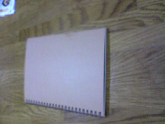 無印良品のノートです